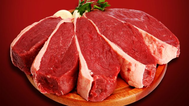 Beef exports from Brazil a world record