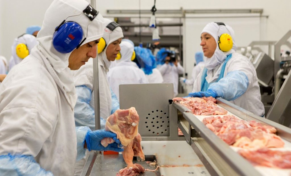Brazilian poultry exports dropped in March